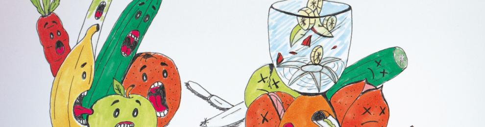 Detox-Kur… Totes Gemüse